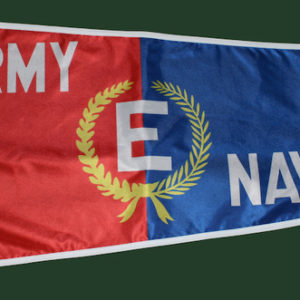 "Army-Navy ""E"" flag"