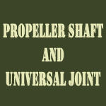 Propeller shaft and universal joint