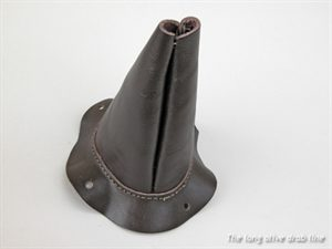 gearshift lever housing cover leather boot