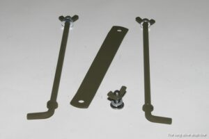 battery rod and stay kit for ford gpw