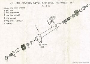 clutch control lever kit