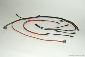 dash panel wiring system for willys mb rigth side