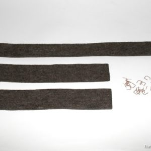 radiator top and side seals set