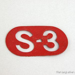 s3 red medallion set