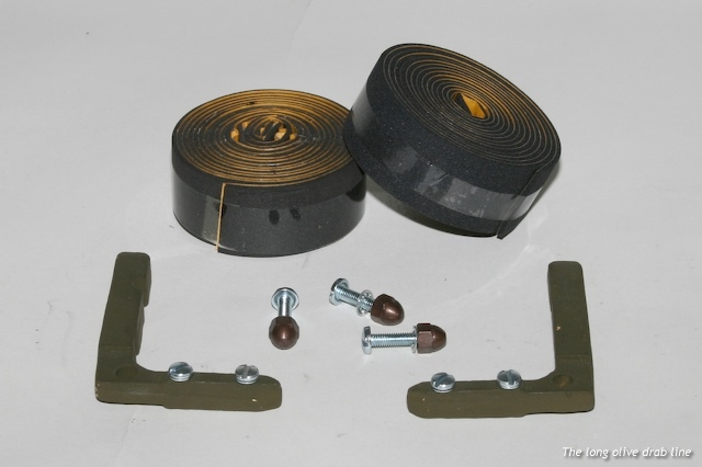 Windshield glass frame repair kit - The Long Olive Drab Line