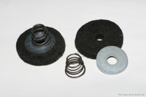 pedal shaft felt grommets set for willys mb with springs and washers