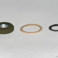 bezel, felt seal and optional paper for ford gpw and gpa ignition switch paper spacer