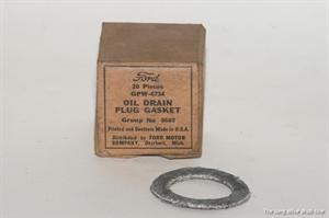 oil pan plug gasket