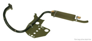 exhaust clamps complete set for Willys