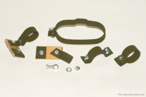 exhaust system clamps complete set for Ford