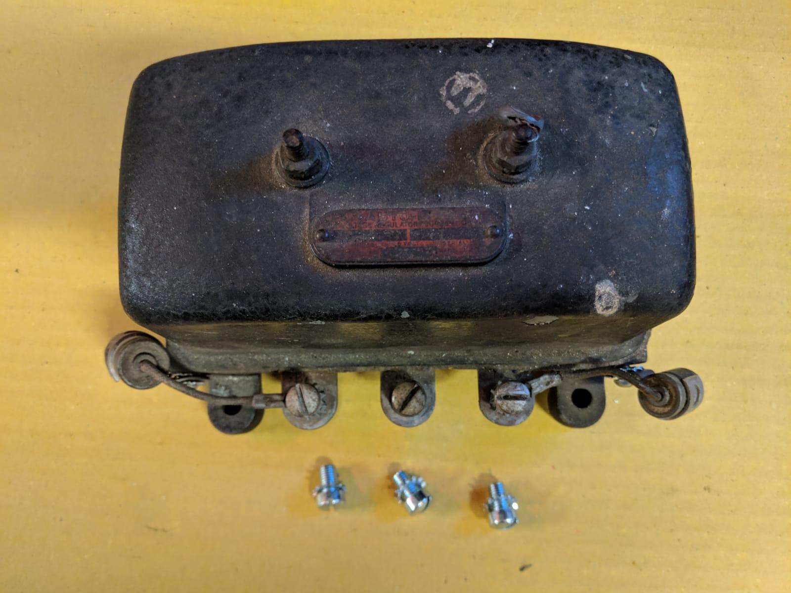 regulator terminal screws